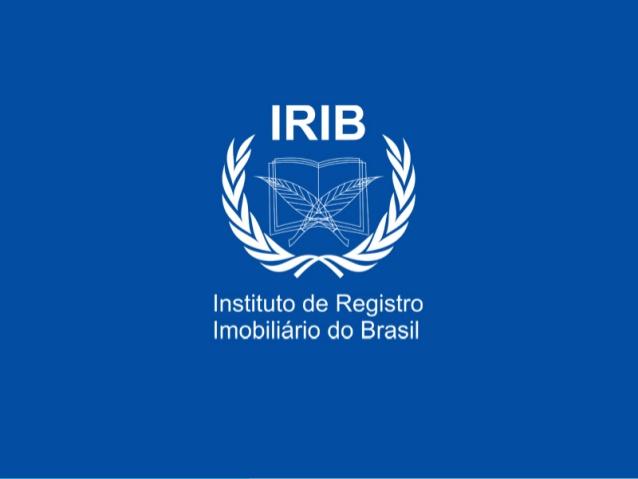 Declaración de apoyo al IRIB – Instituto de Registro Imobiliário do Brasil